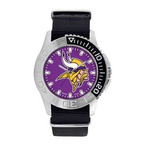 Minnesota Vikings Mens Quartz Analog Starter Watch