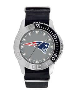 New England Patriots Mens Quartz Analog Starter Watch