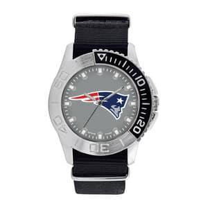 New England Patriots Mens Quartz Analog Starter Watch