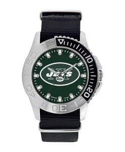 New York Jets Mens Quartz Analog Starter Watch