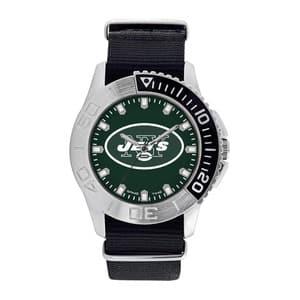 New York Jets Mens Quartz Analog Starter Watch