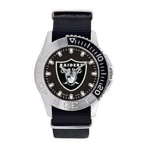 Oakland Raiders Mens Quartz Analog Starter Watch