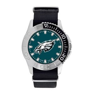 Philadelphia Eagles Mens Quartz Analog Starter Watch