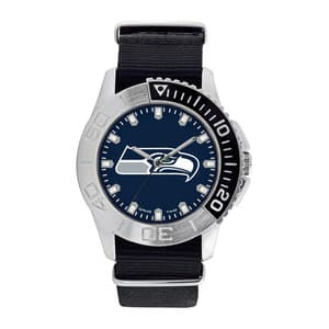 Seattle Seahawks Mens Quartz Analog Starter Watch