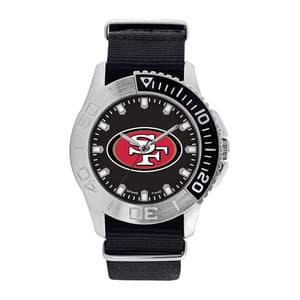 San Francisco 49Ers Mens Quartz Analog Starter Watch