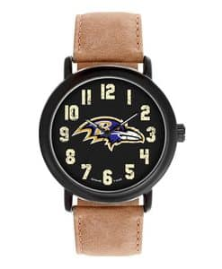 Baltimore Ravens Mens Quartz Analog Throwback Watch