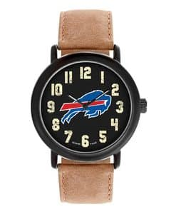 Buffalo Bills Mens Quartz Analog Throwback Watch