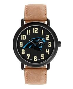 Carolina Panthers Mens Quartz Analog Throwback Watch