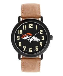 Denver Broncos Mens Quartz Analog Throwback Watch