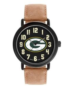 Green Bay Packers Mens Quartz Analog Throwback Watch