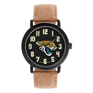 Jacksonville Jaguars Mens Quartz Analog Throwback Watch