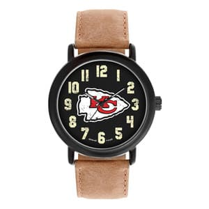Kansas City Chiefs Mens Quartz Analog Throwback Watch