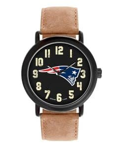 New England Patriots Mens Quartz Analog Throwback Watch