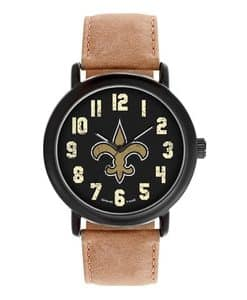 New Orlean Saints Mens Quartz Analog Throwback Watch