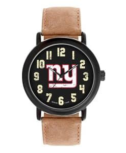 New York Giants Mens Quartz Analog Throwback Watch