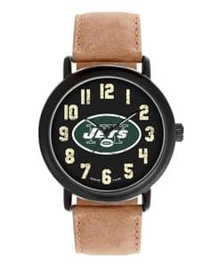 New York Jets Mens Quartz Analog Throwback Watch