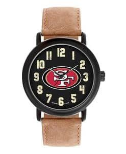 San Francisco 49Ers Mens Quartz Analog Throwback Watch
