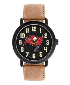 Tampa Bay Bucaneers Mens Quartz Analog Throwback Watch