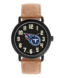 Tennessee Titans Mens Quartz Analog Throwback Watch