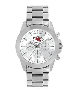 Kansas City Chiefs Ladies Quartz Analog Silver Knockout Watch