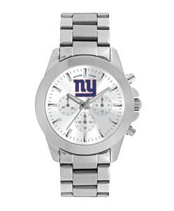 New York Giants Ladies Quartz Analog Silver Knockout Watch