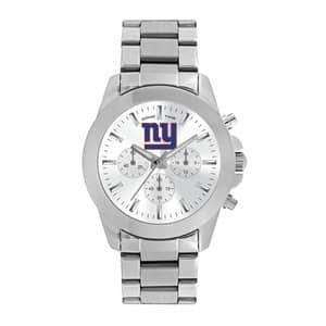 New York Giants Ladies Quartz Analog Silver Knockout Watch