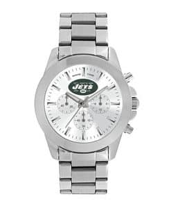 New York Jets Ladies Quartz Analog Silver Knockout Watch