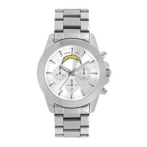 San Diego Chargers Ladies Quartz Analog Silver Knockout Watch