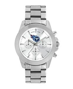 Tennessee Titans Ladies Quartz Analog Silver Knockout Watch