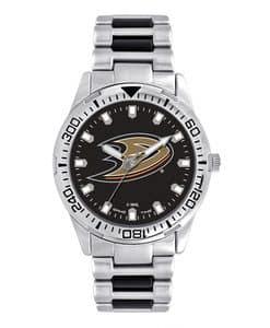Anaheim Ducks Mens Quartz Analog Silver Heavy Hitter Watch