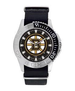 Boston Bruins Mens Quartz Analog Starter Watch