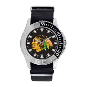 Chicago Blackhawks Mens Quartz Analog Starter Watch