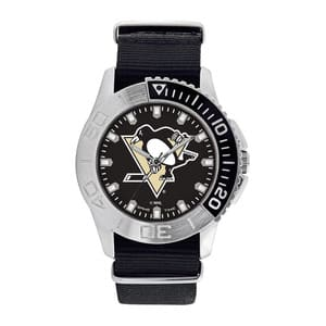 Pittsburgh Penguins Mens Quartz Analog Starter Watch