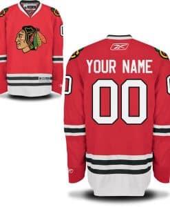 Chicago Blackhawks CUSTOM Mens Premier Home Jersey