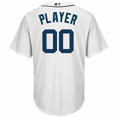 competitive price 82275 eb44b Logan Kensing Detroit Tigers Cool Base Replica Home Jersey