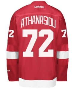 Andreas Athanasiou Detroit Red Wings Reebok Home Jersey
