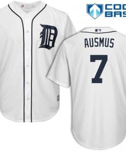 Brad Ausmus Detroit Tigers Cool Base Replica Home Jersey