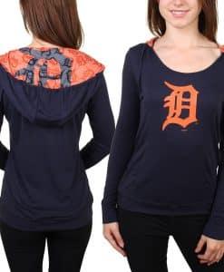 Detroit Tigers Women's Sublime Hoodie