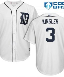 Ian Kinsler Detroit Tigers Cool Base Replica Home Jersey