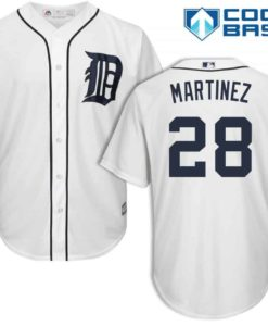 J.D. Martinez Detroit Tigers Cool Base Replica Home Jersey