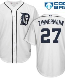 Jordan Zimmermann Detroit Tigers Cool Base Replica Home Jersey