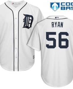 Kyle Ryan Detroit Tigers Cool Base Replica Home Jersey