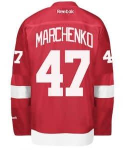 Marchenko Detroit Red Wings Reebok Premier Home Jersey