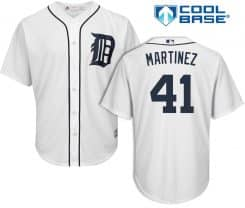 Victor Martinez Detroit Tigers Cool Base Replica Home Jersey