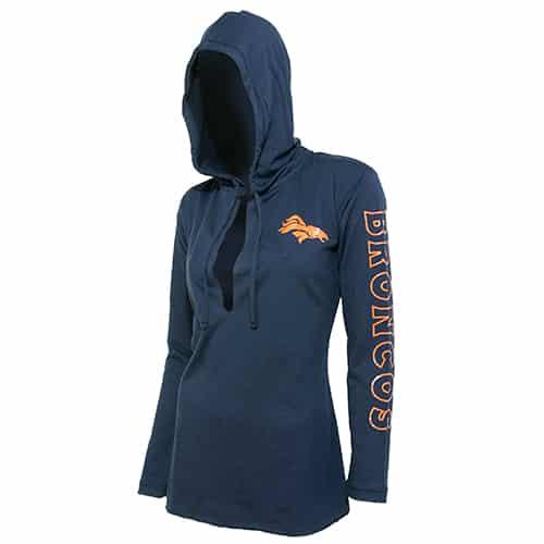 Denver Broncos Ladies Hoodie