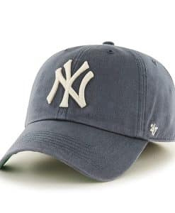 New York Yankees Franchise Vintage Navy 47 Brand Fitted Hat