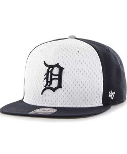 Detroit Tigers 47 Brand Navy Backboard Snapback Adjustable Hat