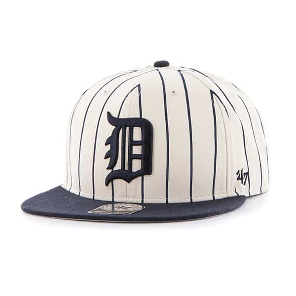Detroit Tigers Cooperstown Pinstripe Snapback Adjustable Hat
