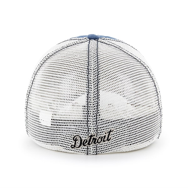 Detroit Tigers Dyer Rockford Mesh Stretch Fit Hat Back