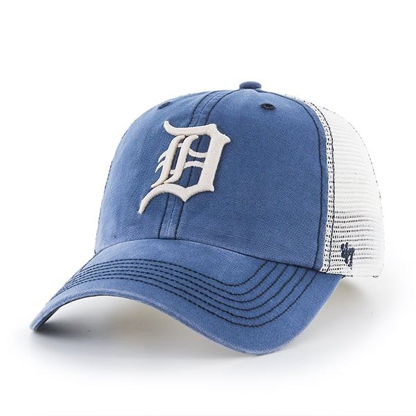Detroit Tigers 47 Brand Dyer Rockford Mesh Stretch Fit Hat